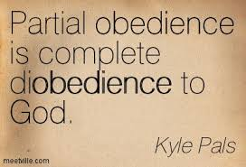 Working Hard Can Never Replace Obedience
