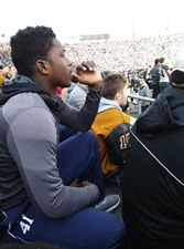 At a Purdue Game